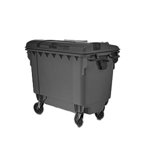 Cleaning of waste bins